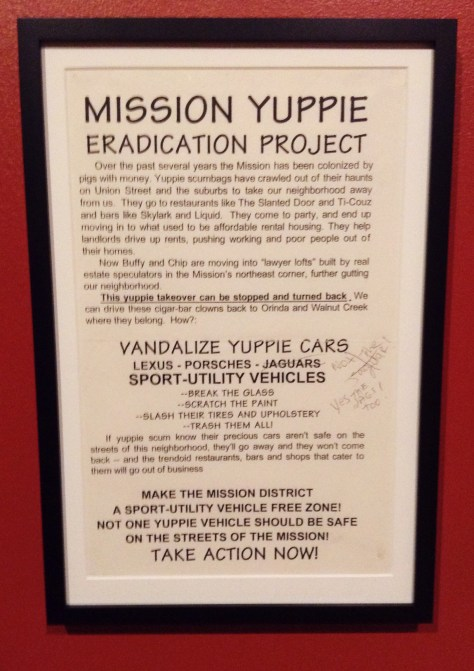 Mission Yuppie Eradication Project