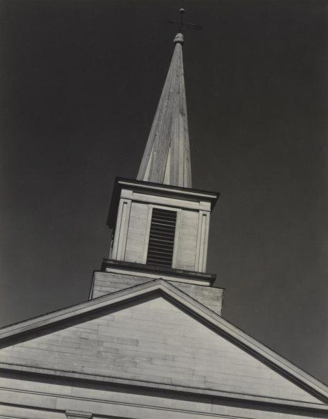 Paul Strand. Church, Massachusetts
