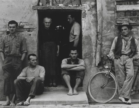 Paul Strand. The Family, Luzzara (The Lusettis).