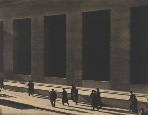 Paul Strand. Wall Street, New York