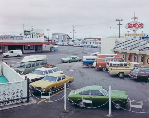 Stephen Shore, Fifth Street and Broadway, Eureka, California, September 2, 1974