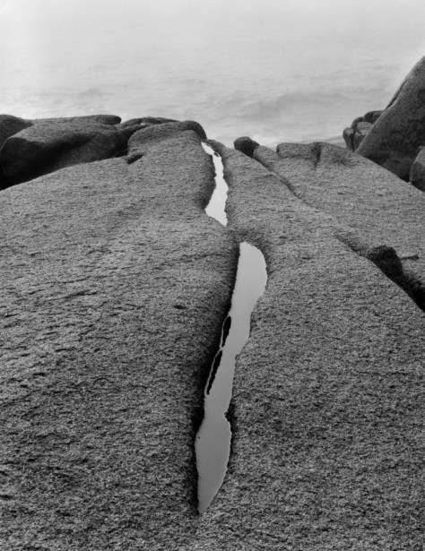 Dorothy Kerper Monnelly Rock Crevice Pool, Acadia National Park, Maine, 2001