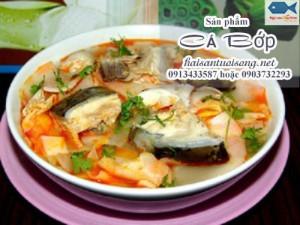 Cách chế biến món lẩu cá Bớp nấu măng chua