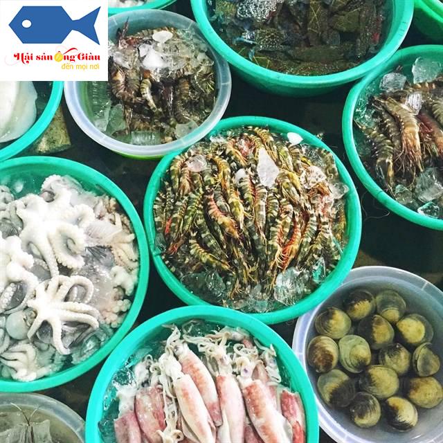 Chuyên cung cấp hải sản tươi sống tại Lâm Đồng