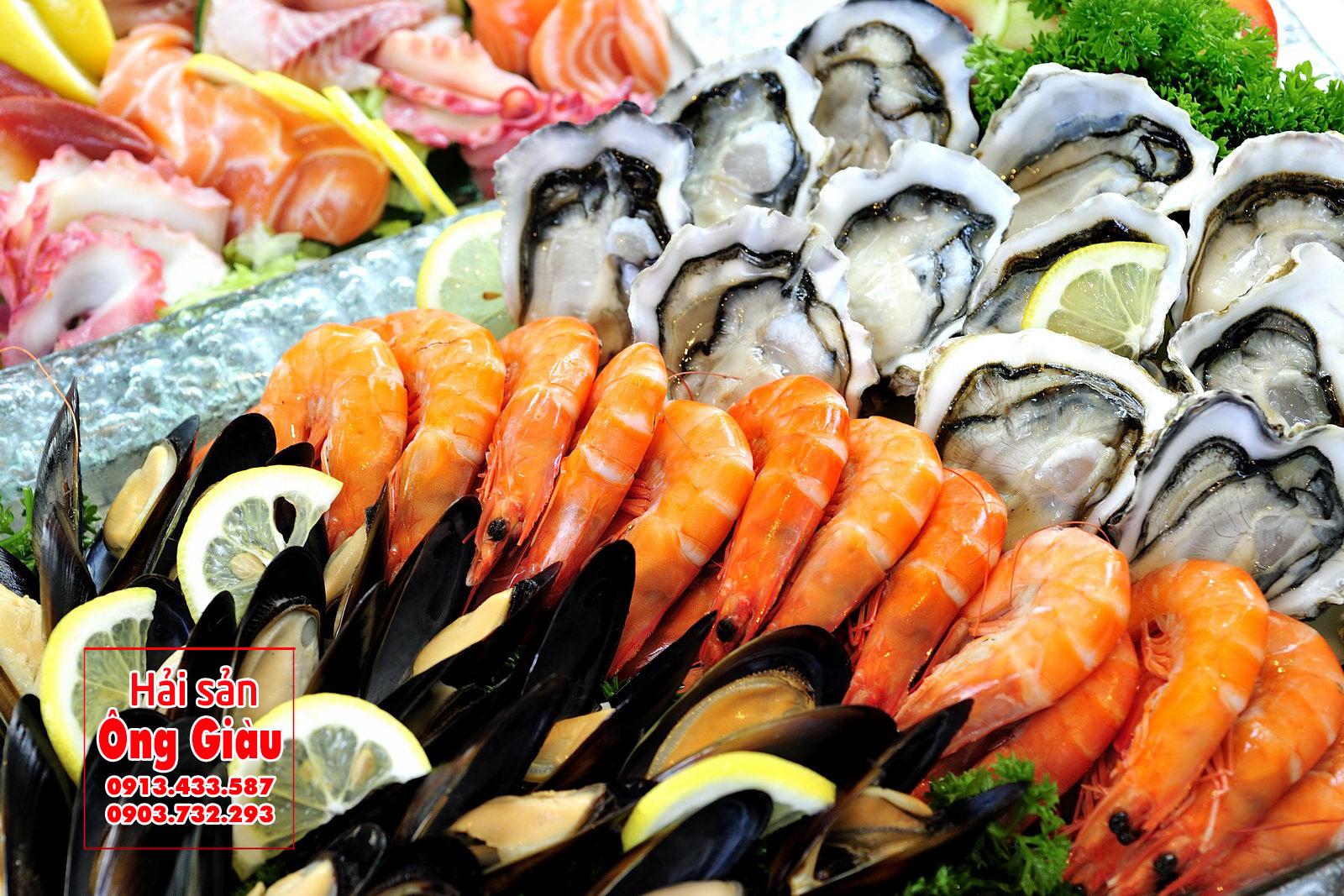 Mua hải sản tươi sống tại Hà Giang của Hải sản Ông gIàu