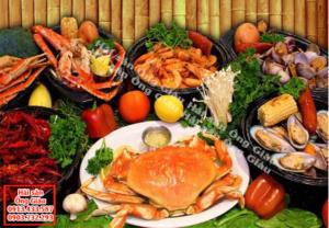 hải sản tươi sống và những lưu ý khi ăn hải sản tươi sống