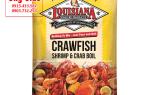 Gia vị luộc Tôm Hùm Đất Crawfish giá bán bao nhiêu tiền
