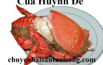 Bán cua Huỳnh Đế tươi sống tại TpHCM giá sỉ lẻ bao nhiêu tiền 1 kg