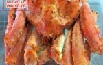 Bán Cua Alaska King Crab vừa ngộp hấp chín tươi ngon