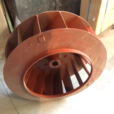 塗装ブース用の排気ファン