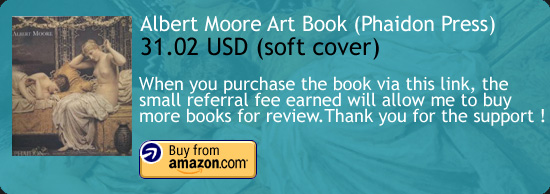 Albert Moore (Phaidon) Art Book Amazon Buy Link