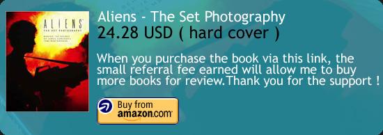 Aliens - The Set Photography Book Amazon Buy Link