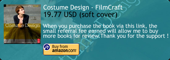 Costume Design – FilmCraft Series Book Amazon Buy Link