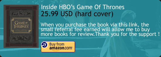 Inside HBO's Game Of Thrones Book Amazon Buy Link