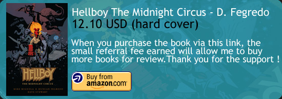 Hellboy - The Midnight Circus Comic Book Fegredo Amazon Buy Link
