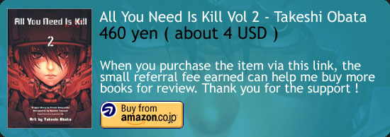 All You Need Is Kill Manga Vol 2  Amazon Japan Buy Link
