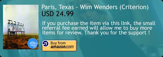 Paris Texas Criterion Blu-ray Wim Wenders Amazon Buy Link