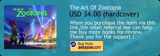 The Art Of Zootopia Amazon Buy Link