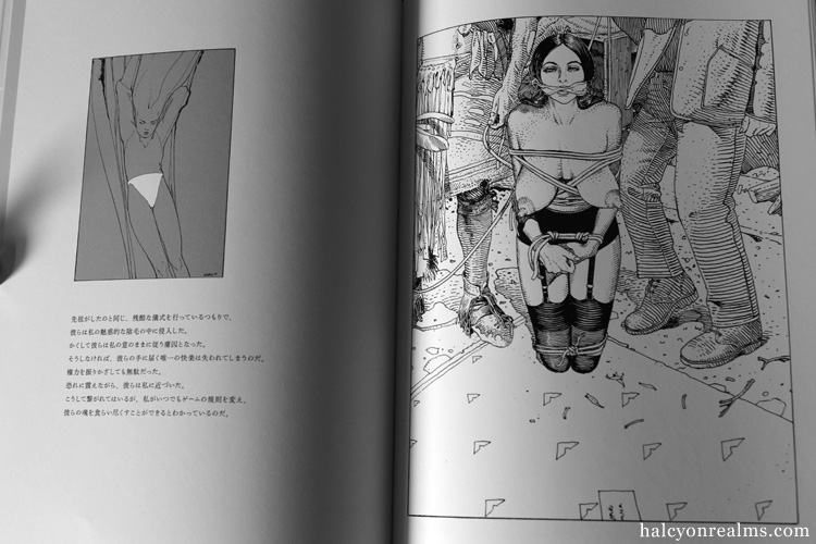 Griffes D'ange (Angel's Claw) - Moebius Art Book