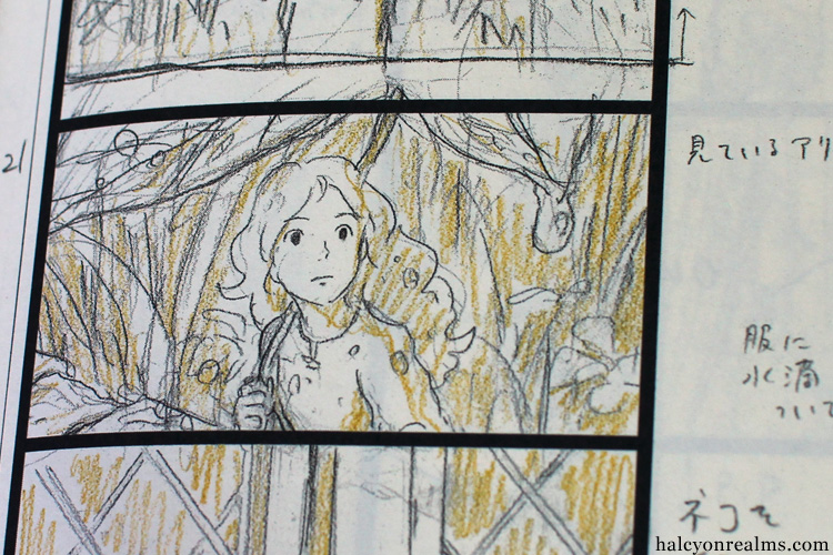 The Art Of Kari-gurashi (Arrietty) Storyboard Book