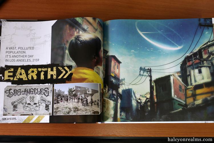 Elysium - The Art Of The Film Book
