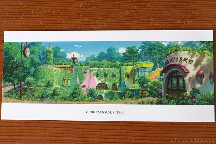Ghibli Museum Illustrated Postcards Yoshida Noboru