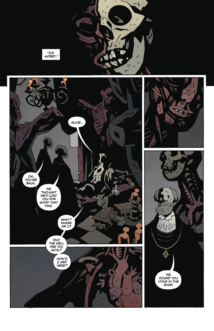 Hellboy in Hell : The Hounds Of Pluto Preview