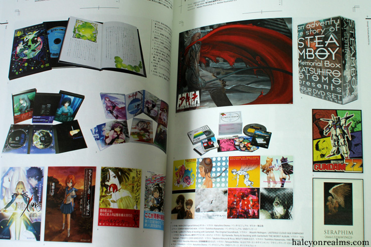 Cover Designs For Japanese Games, Anime, Manga Book