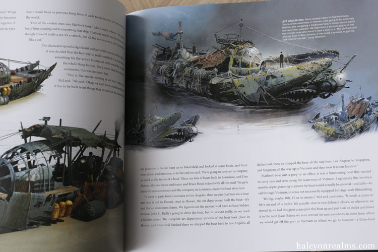The Art And Making Of Kong : Skull Island Book Review