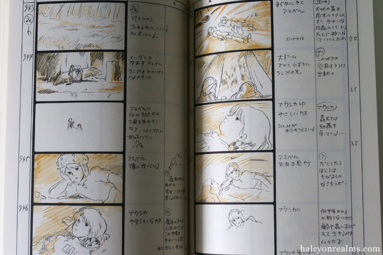 Nausicaa Storyboard Ghibli Art Book