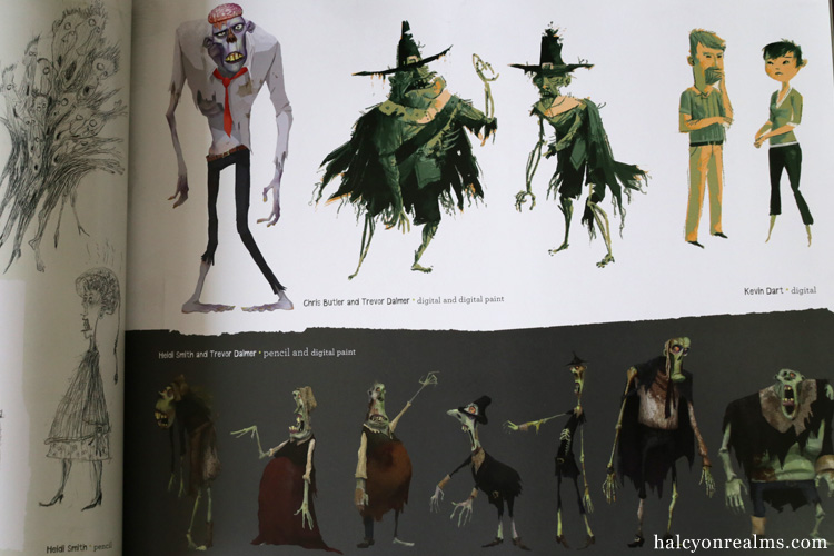 The Art And Making Of ParaNorman Art Book