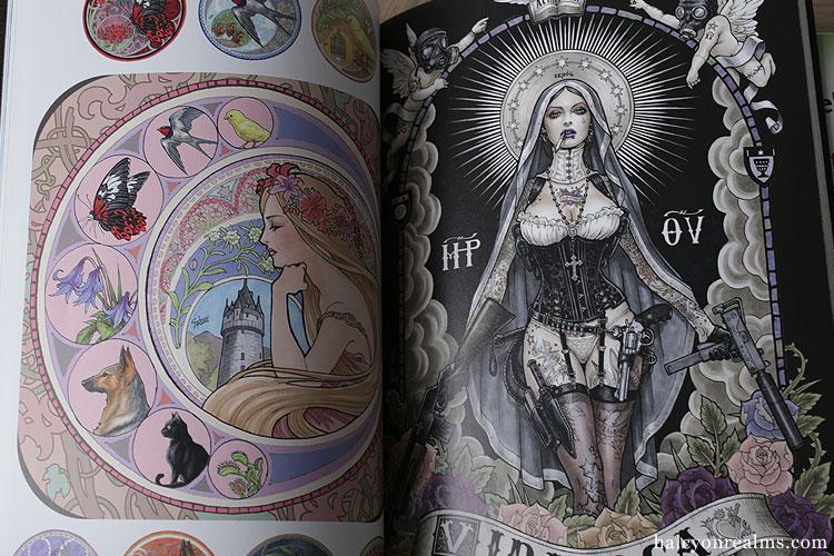 Takumi Art / Coloring Book Review