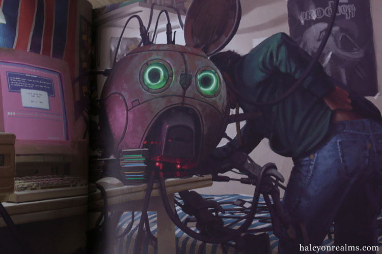 Things From The Flood - Simon Stålenhag Art Book Review
