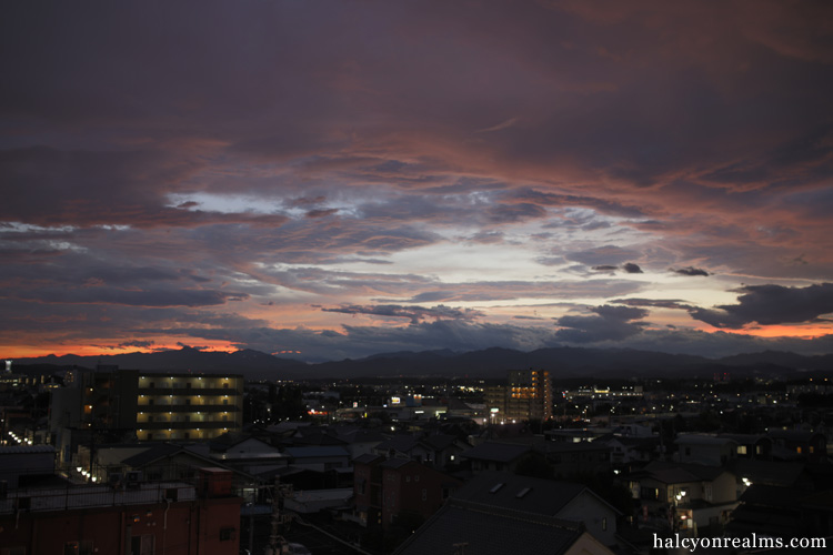 Sayama Skies After Typhoon No.9