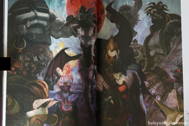 Vampire Artworks - Capcom Games Art Book