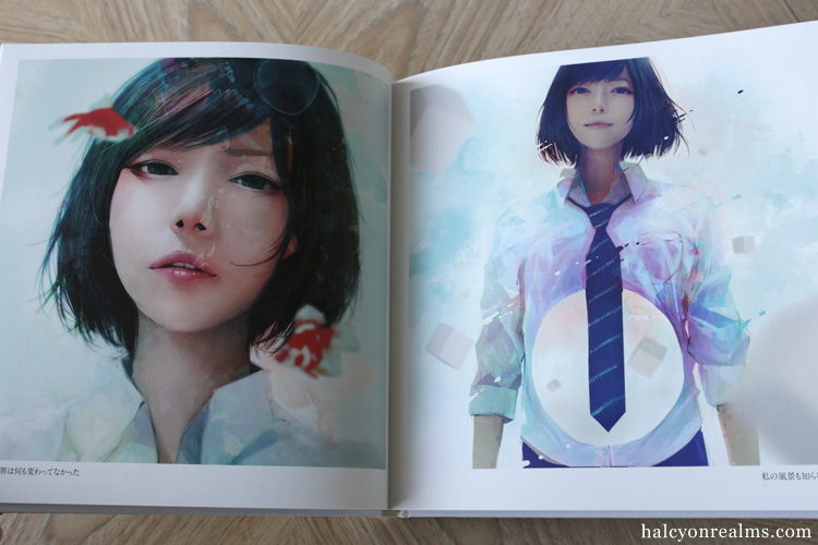 Wataboku - Kanzero Art Book Review