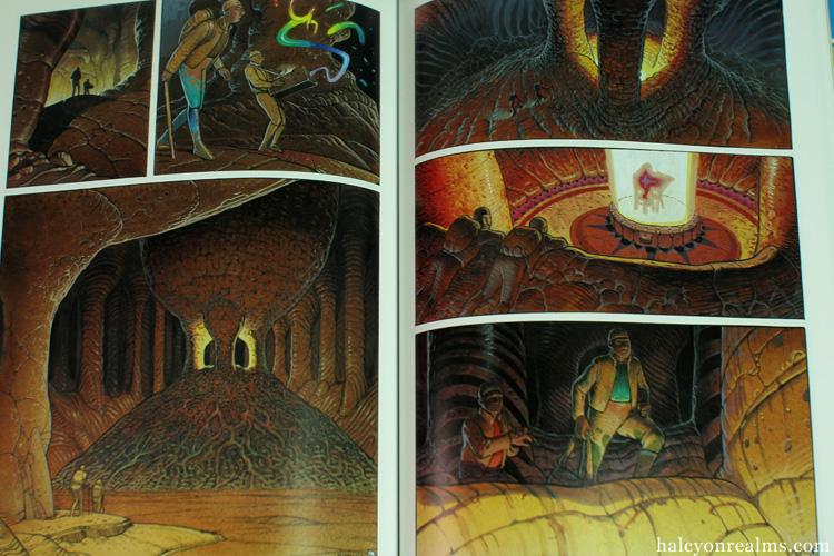 Le Monde d'Edena - Moebius Graphic Novel