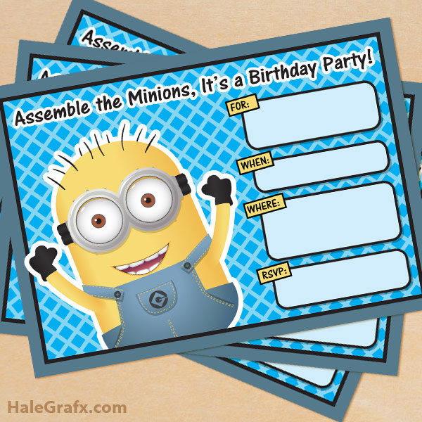Minion Birthday T-Shirt or Bodysuit PARTY Pinterest Bodysuit - free birthday cards templates