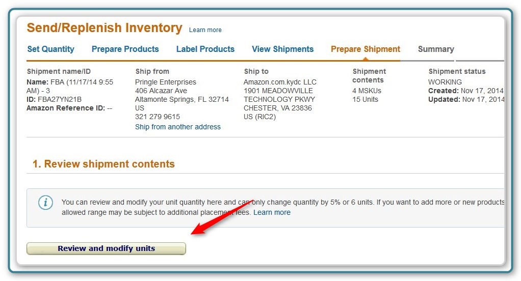 Amazon FBA Tip - Create a Useable FBA Packing Slip