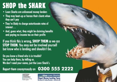 LOAN SHARKS OPERATING IN HALEWOOD