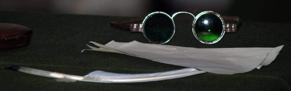 Benjamin Franklin's glasses - because revolution jokes are funny