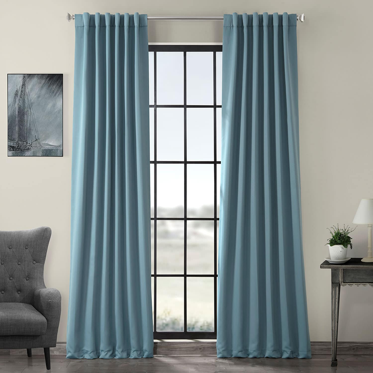 Teal Blackout Curtains Dragonfly Teal Blackout Curtain