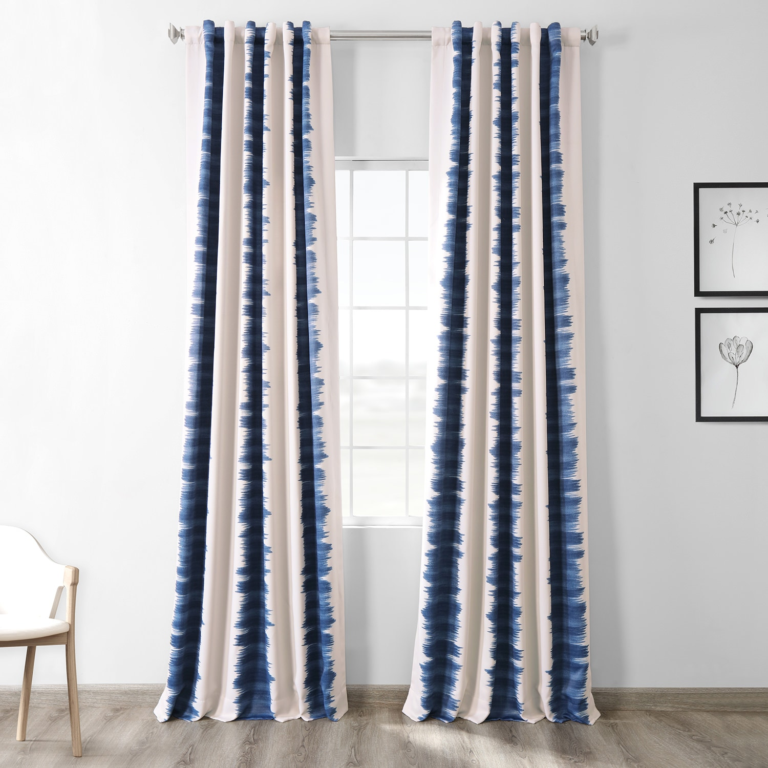 Curtains For A Blue Room Flambe Blue Room Darkening Curtain