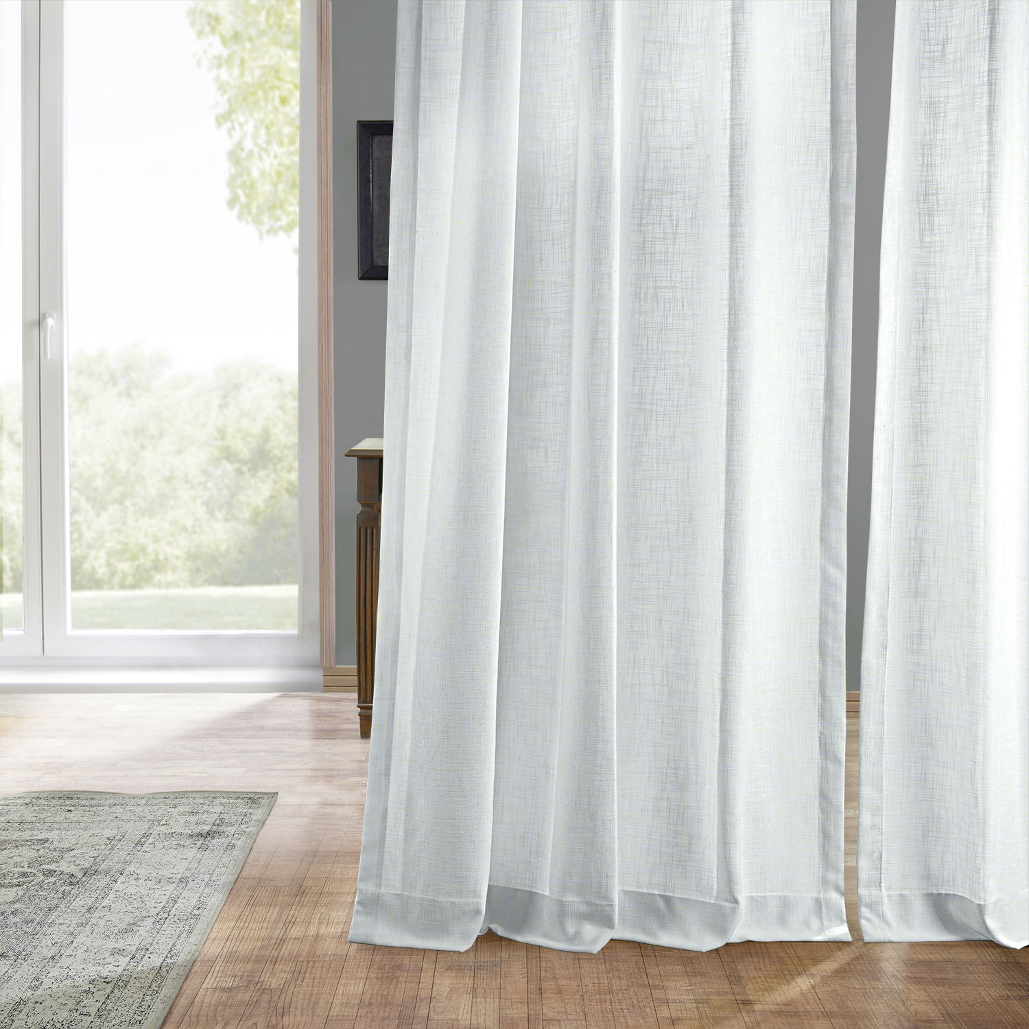Buy Curtains Buy White Heavy Faux Linen Curtain Drapes