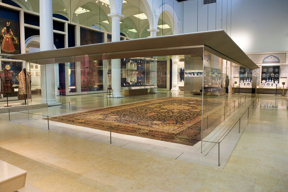 Ardabil Teppich Carpet Collecting At The V&a In The Late 19th Century - Hali