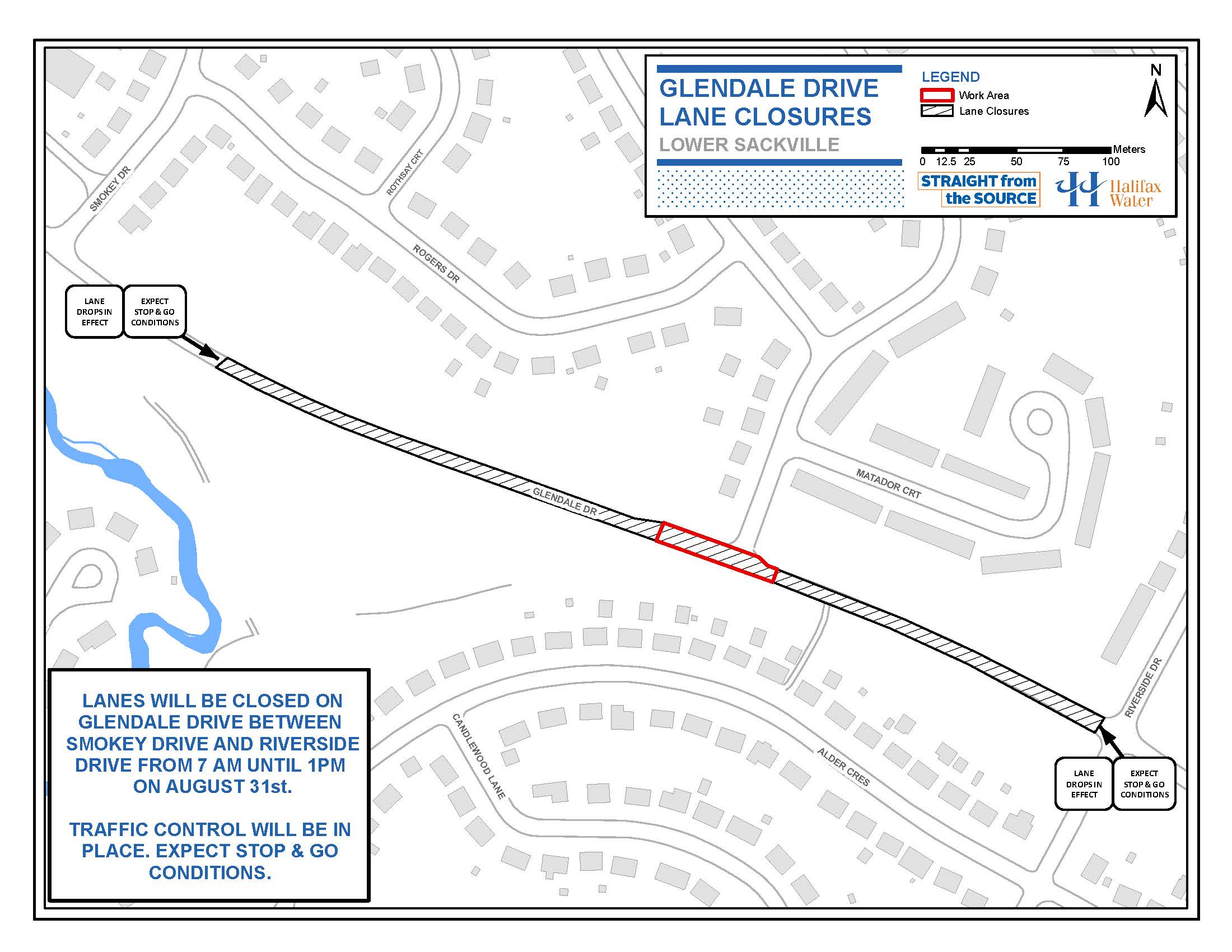 Drive Work Rankin Drive And Glendale Drive Partial Closure Paving Halifax