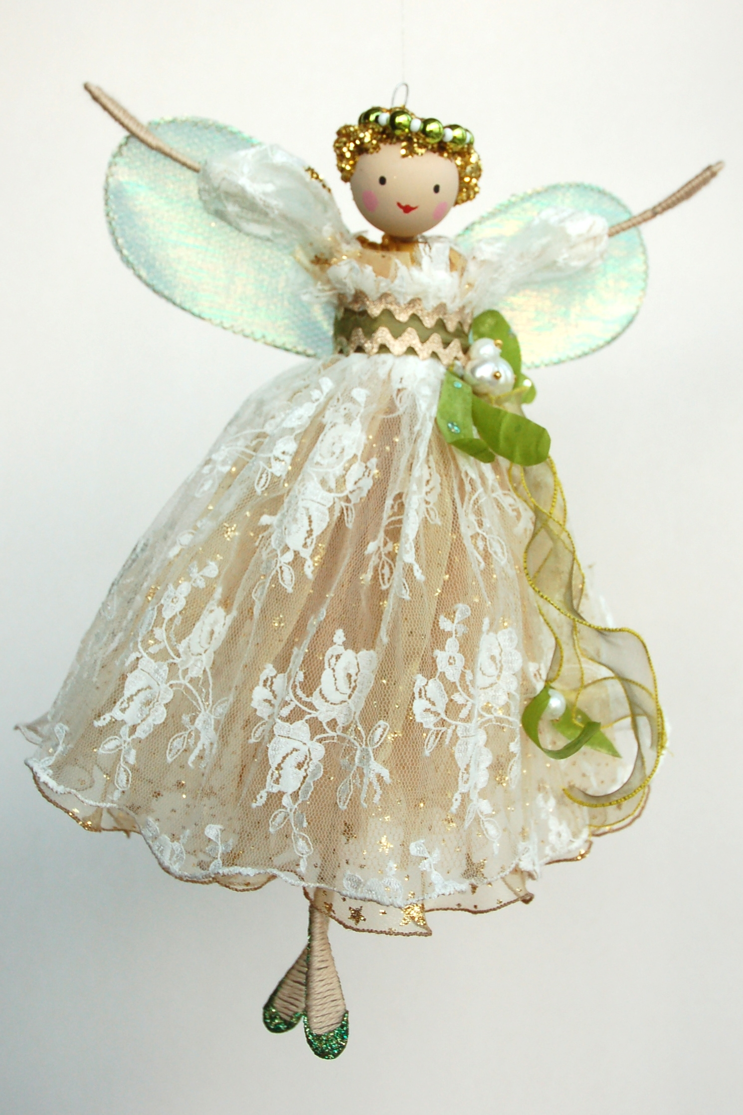 Large Fairies Large Mistletoe Tree Top Fairy Halinka 39s Fairies