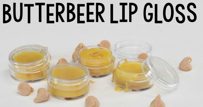 Make Butterbeer Lip Gloss
