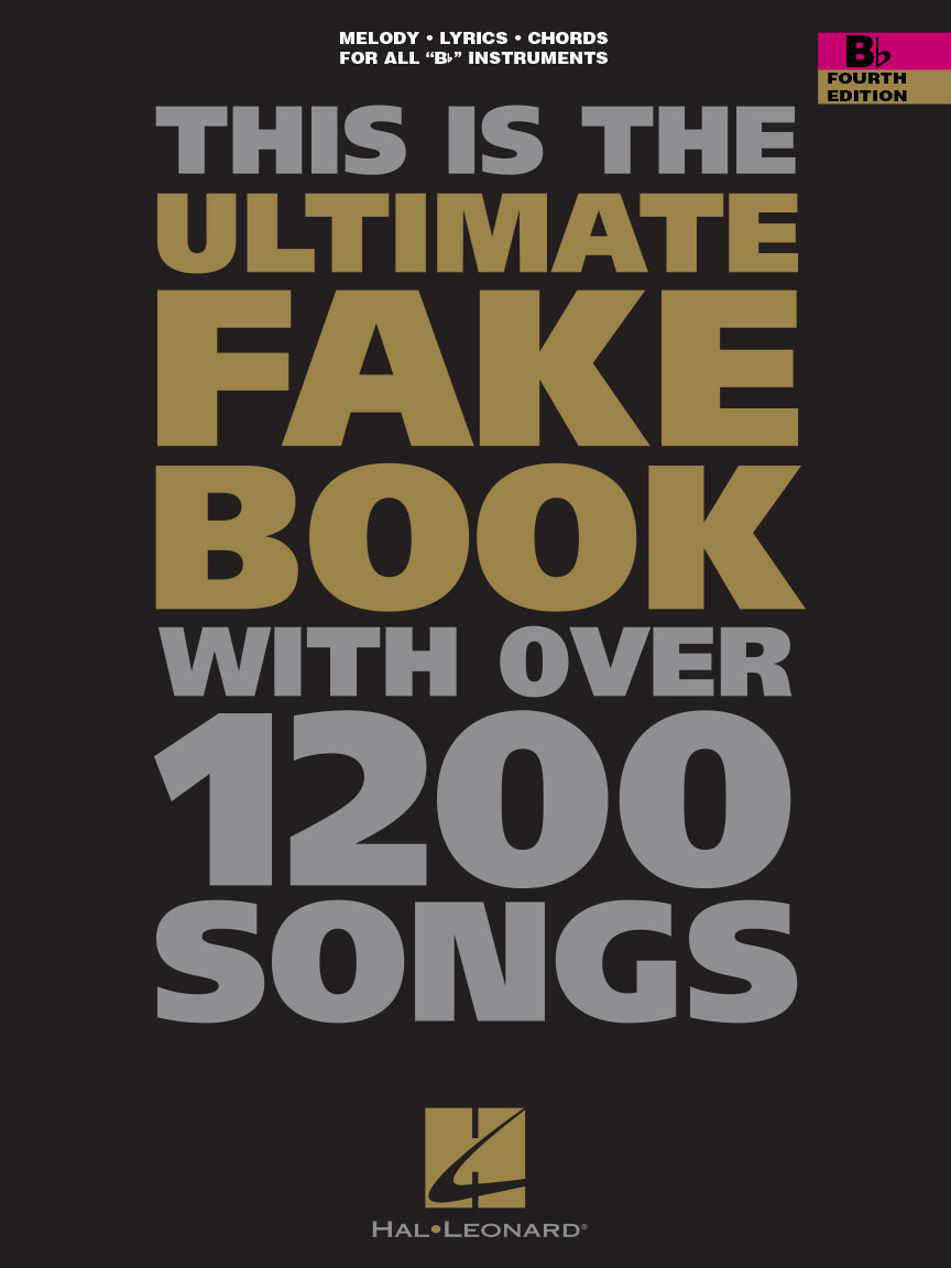 Bad James Bay Chords The Ultimate Fake Book Fourth Edition B Flat Edition