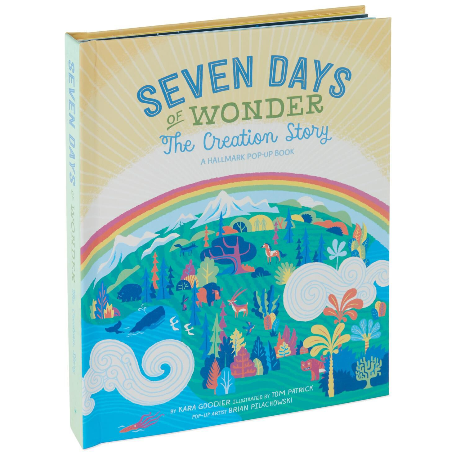 Pop Up Book Cover 7 Days Of Wonder The Creation Story Pop Up Book